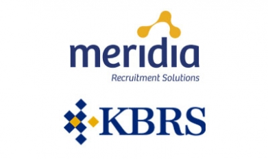 KBRS and Meridia recruitment solutions logos